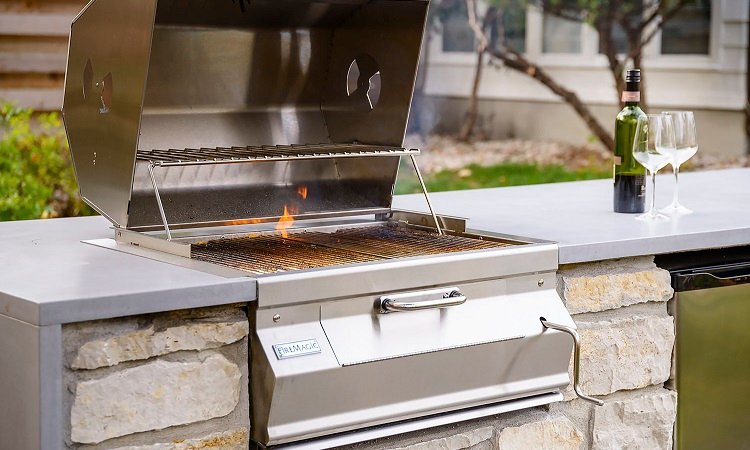 charcoal camping grill