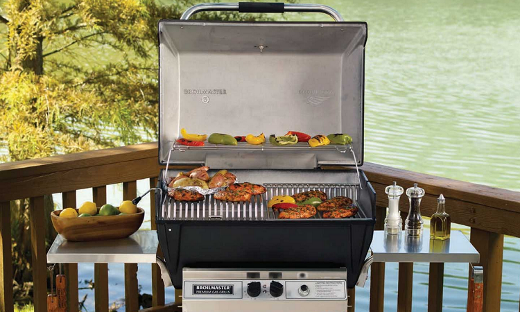 gas camping grill