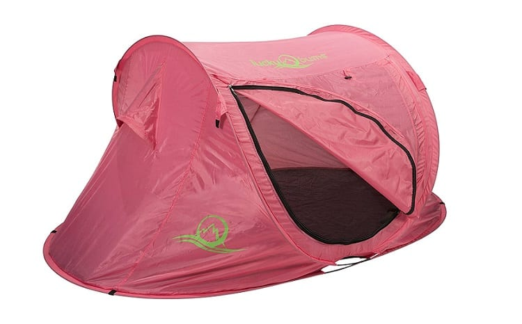Lucky Bums Pop Up Tent Review