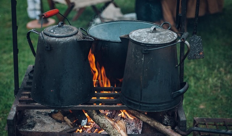 camping of backpacking cookware