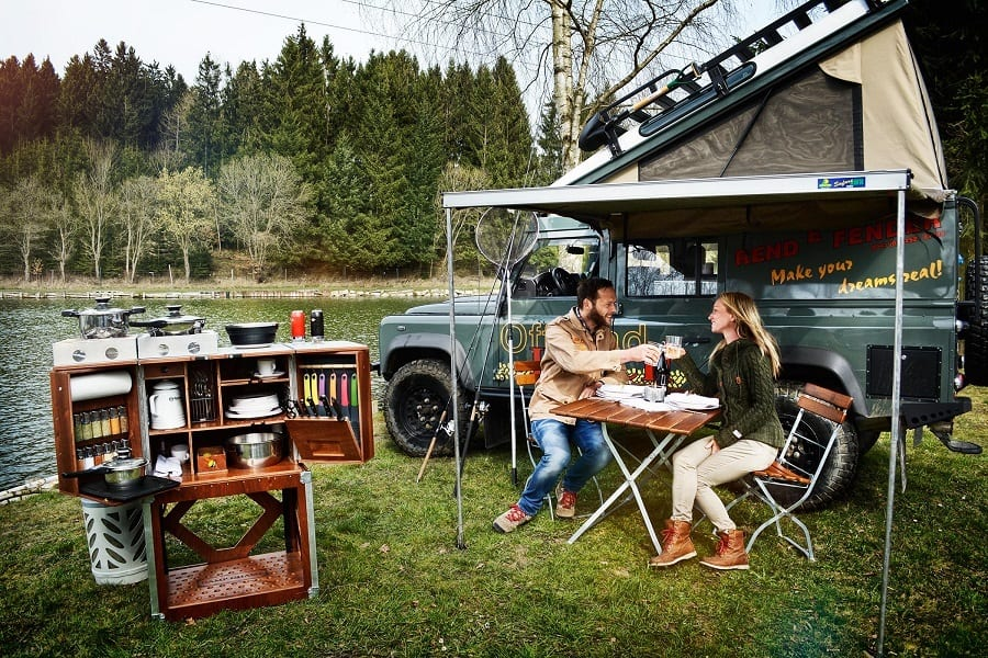 Camping Kitchen - Create Perfect Meals for Any season