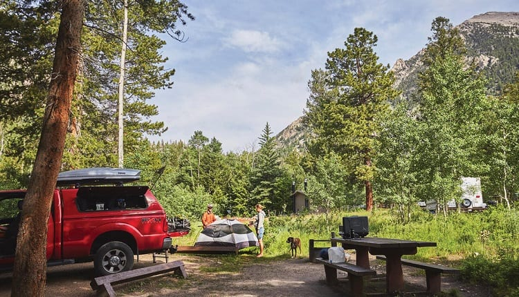 car camping destinations