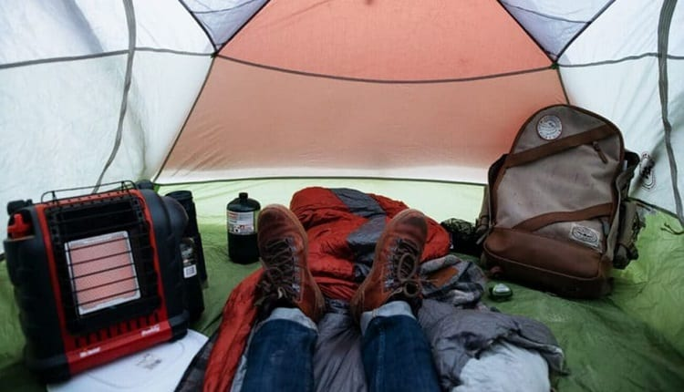 catalytic heater for your tent