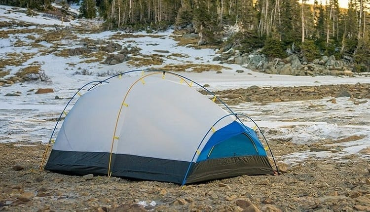 double wall tent for winter camping
