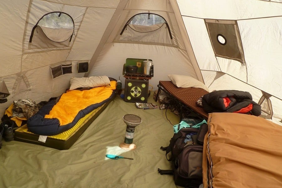 How To Heat A Tent - 8 Simple Tips To Keep You Warm
