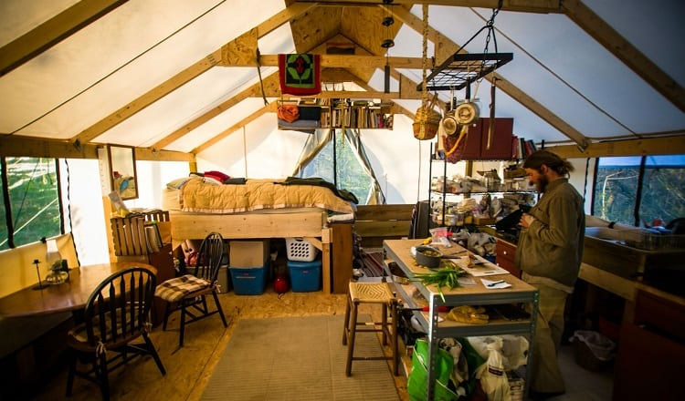 benefits of livable tents
