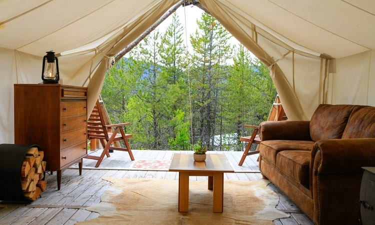 living tent