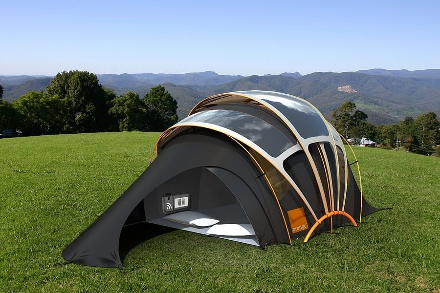 Solar Powered Tent - Latest Addition For Camping Adventure