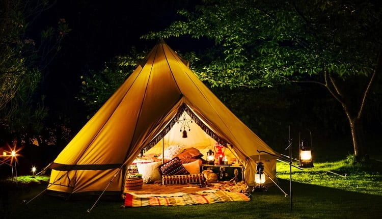 camping tent lights