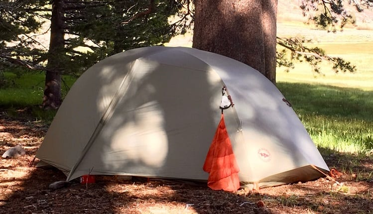 lightweight three season tent