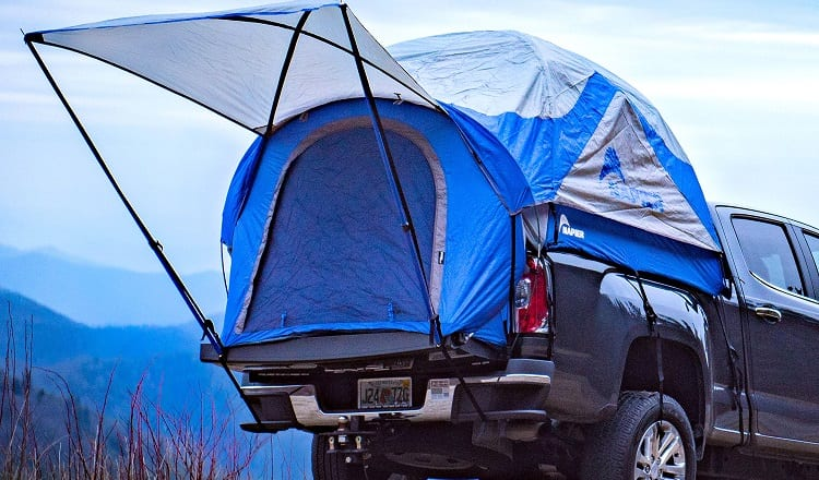 truck camping tent