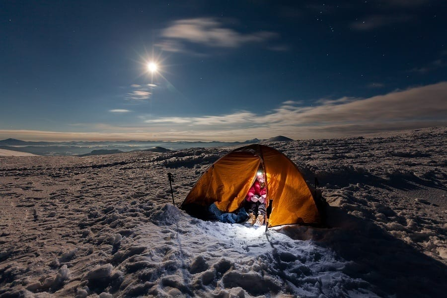 Discover Positive Sides Of Winter Camping