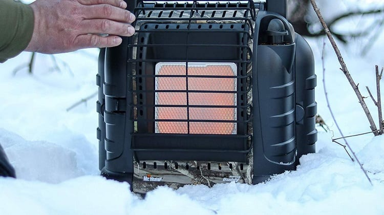 winter camping heater